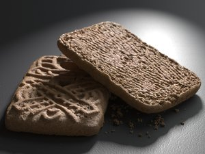 3D speculaas biscuits model