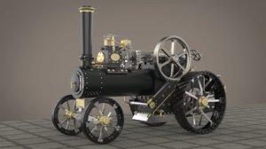 minnie metric steam engine 3D