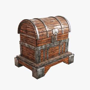 3D model chest games