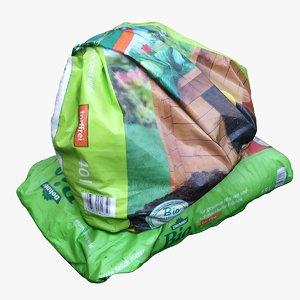 bags earth 3D model