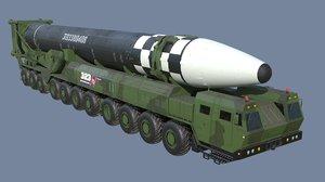 ballistic missile model