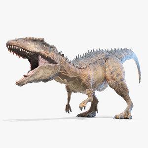 carcharodontosaurus carcharodon 3D
