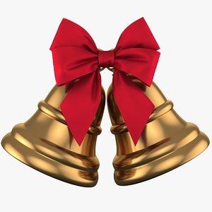 3D christmas bell 02