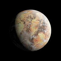 Desert Planet - Dune- Tatooine- Alien Planet 8k