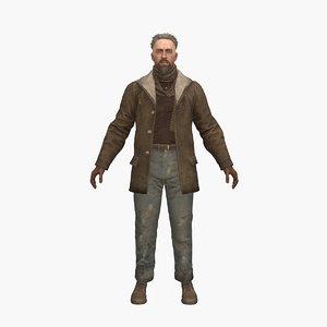 ryan crowd 3D model
