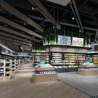 Supermarket Collection 3D model