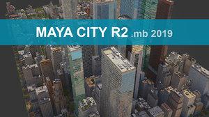city streets 3D model