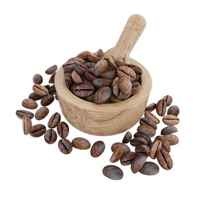 coffee bean bowl 3D model