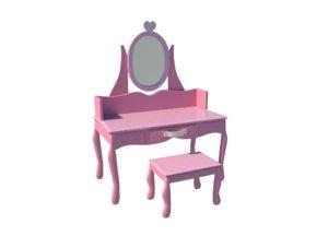3D model cute vanity