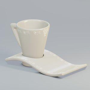 mug wavy 3D model