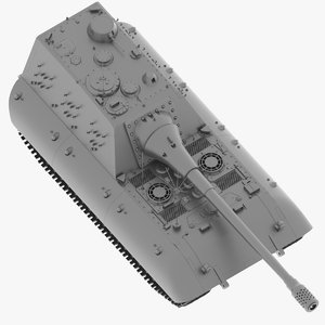 jagdpanzer e-100 174 stl 3D