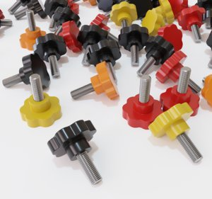 clamping bolt 3D