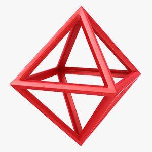 3D octahedron scanline ready