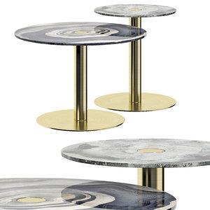 duna coffee tables 3D model