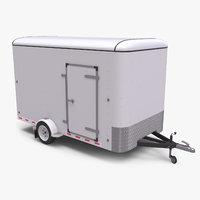 Small Cargo Trailer - Single Axle