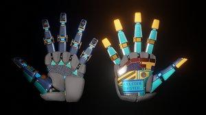 3D robot hand udim