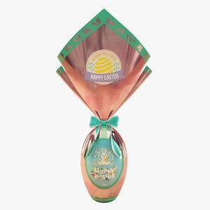 realistic easter egg octane 3D