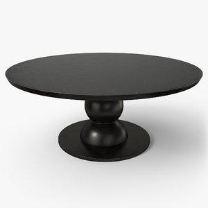 3D table pbr -