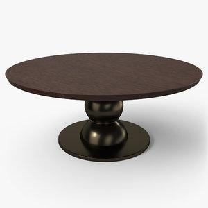 table pbr - 3D model