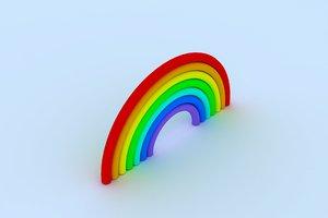 3D rainbow 1
