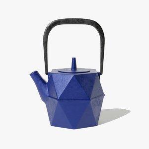 teapot pot japan 3D