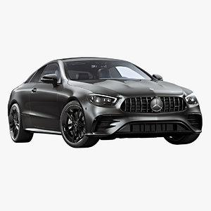 2021 mercedes-benz e53 amg 3D model