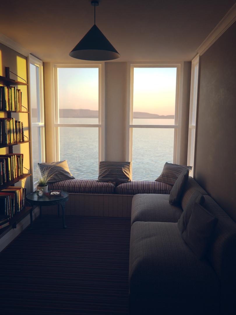 cozy room 3D model