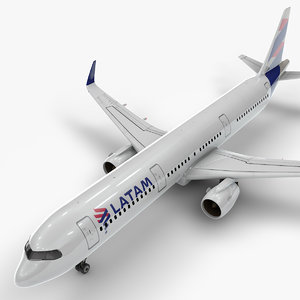 3D a321 neo latam airlines