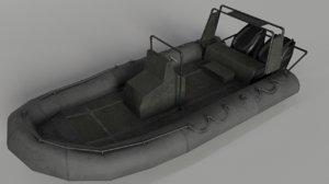 military boat model