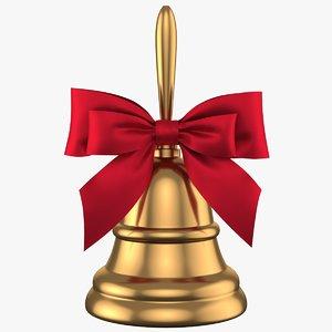 3D christmas bell 03 model