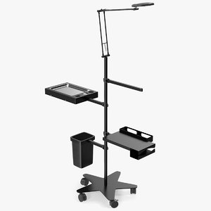 professional multifunction tattoo workstation 3D model