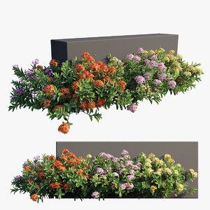 3D plant set