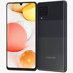 realistic samsung galaxy a42 3D model