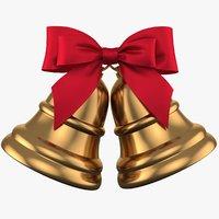 Christmas Bell 04 PBR