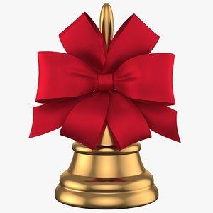 3D christmas bell 05 model