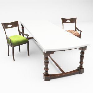 dining chair table set model