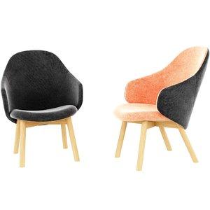 alba lounge armchair model