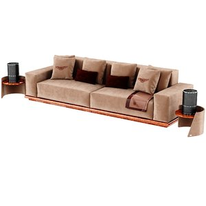 bentley sofa 3D model