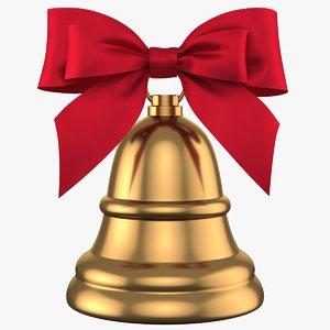 christmas bell 08 3D