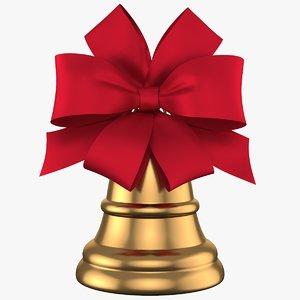 3D christmas bell 09 model