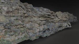 3D model rock scan