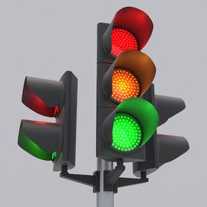 traffic light led 3 model