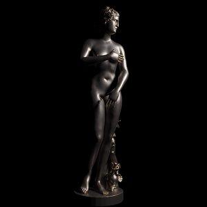 3D model medici statue