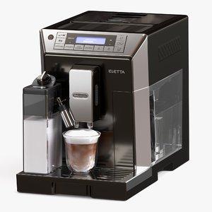 espresso cappuccino 3D model