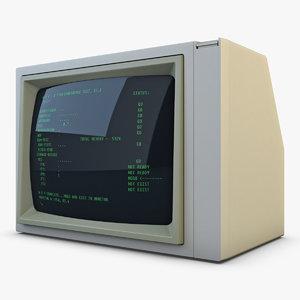 3D monitor v 2
