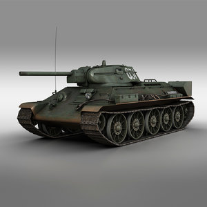 t-34-76 - 1942 631 3D model