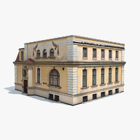 Low Poly Building 193