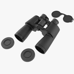 binoculars real 3D model