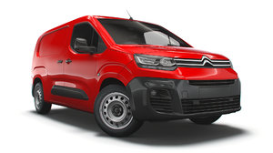 3D citroen berlingo uk-spec enterprise