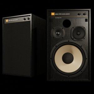 jbl 4312g studio monitor 3D